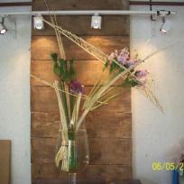 Création d'un bouquet égyptien à structure bois