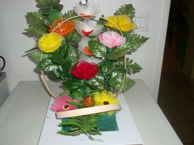 fabrication composition florale anniversaire cr ation art floral de jobruman n 49 240 vue. Black Bedroom Furniture Sets. Home Design Ideas