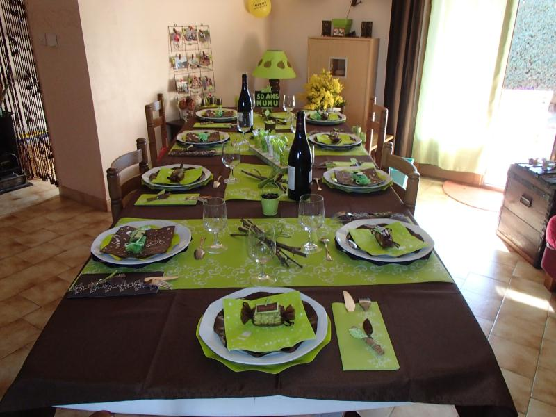 d coration table pour mes 50 ans cr ation art de la table de atelier mumu n 49 317 vue 8 893. Black Bedroom Furniture Sets. Home Design Ideas