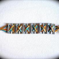 Fabrication bracelet en charnières pour papa au top