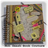Création smash book sur le thème de la couture