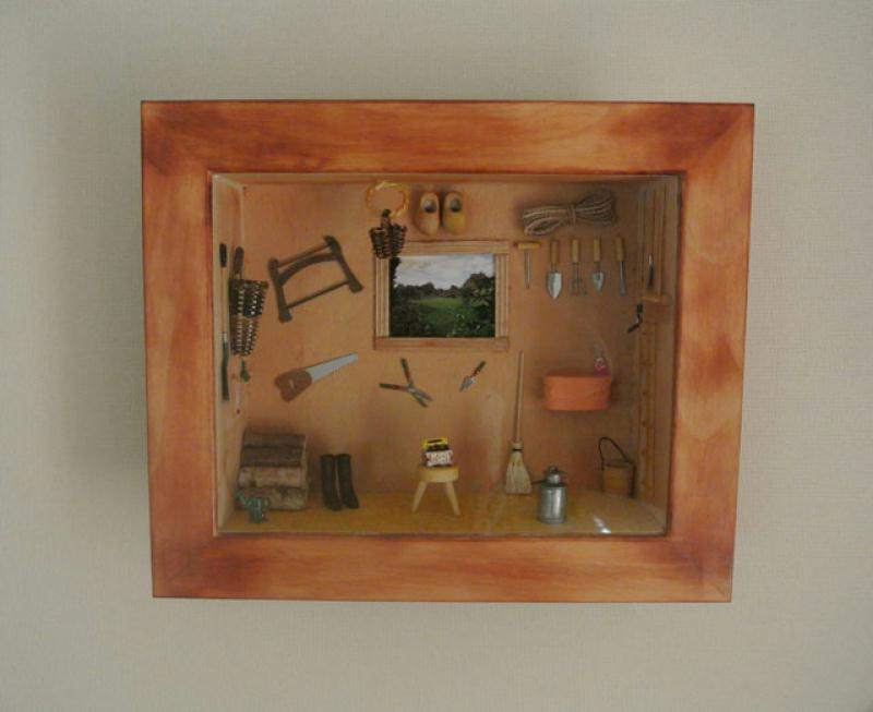 Fabrication cabane du jardinier en miniature cr ation for Recherche jardinier 77