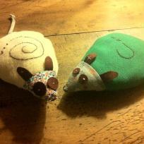 Création souris : et pourquoi pas ... une 3ème souris