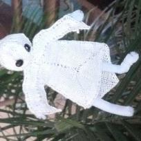 Création en dentelle : Qui a dit d'avoir peur des fantomes ??