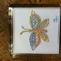 Création joli papillon : un beau signe pour mon amie Françoise !