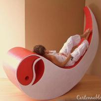 Création d'un fauteuil en carton