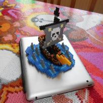 Création 3D bateau pirate