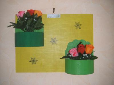 Cr ation d 39 un cadre floral jardin suspendu cr ation art for Art jardin creation