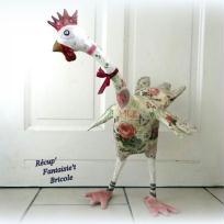 Création de déco : La belle grande poule