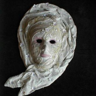 Réalisation d'un masque décoratif à accrocher