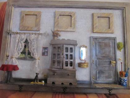 cr ation tableau porte photos et porte cl s cr ation maquettes et miniatures de. Black Bedroom Furniture Sets. Home Design Ideas