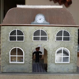 comment faire une maison miniature en papier ventana blog. Black Bedroom Furniture Sets. Home Design Ideas