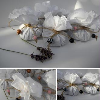 Création Petits pochons de lavande