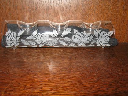 cr ation bougeoir en verre grav cr ation gravure sur verre de valou02670 n 56 002 vue 607 fois. Black Bedroom Furniture Sets. Home Design Ideas