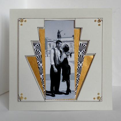 cr ation carte ambiance 1920 inspiration art d co cr ation carterie faire part de paucile. Black Bedroom Furniture Sets. Home Design Ideas