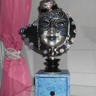 Création Masque boîte à bijoux - Petit modèle