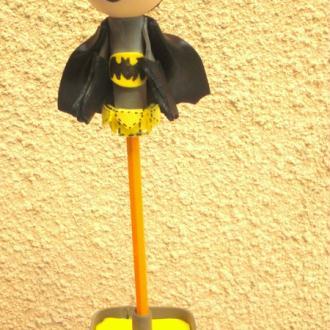 Création Porte crayon Batman amovible / fofuchas