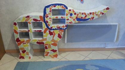cr ation meuble l phant en carton cr ation meuble en carton de joel86 n 57 070 vue 513 fois. Black Bedroom Furniture Sets. Home Design Ideas