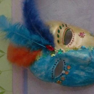 Création masque vénitien enfant