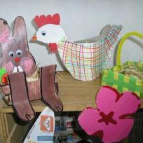 Décorations faites par Alice 5 ans