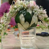 Bouquet de mariée sphérique