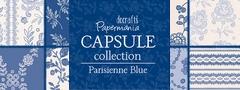 Papermania - Parisienne blue