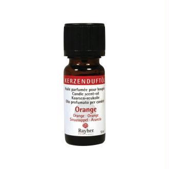 Huile parfumée pour bougies, flacon 10 ml, Orange