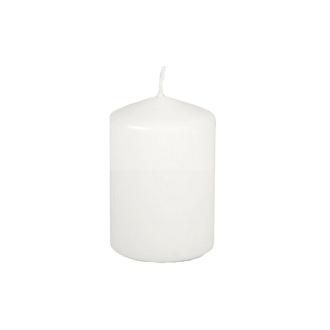 Bougie blanche diam. 60 mm x haut. 85 mm, durée de vie 18 h, 1pièce