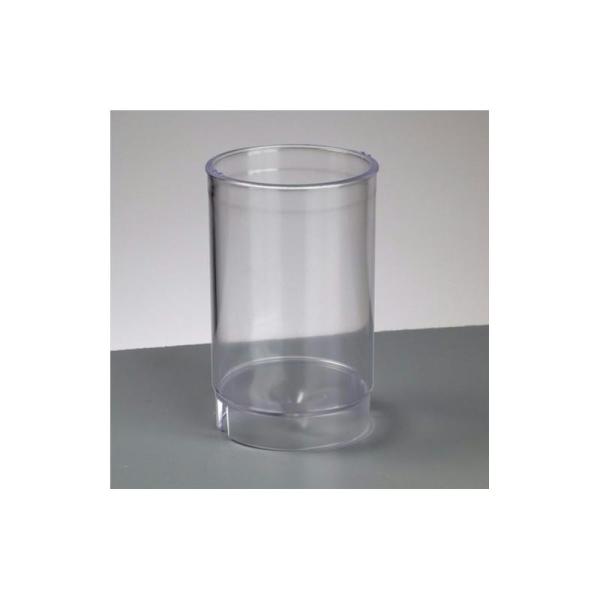 Moule Cylindrique en plastique pour créer des bougies, 105 x 65 mm - Photo n°1