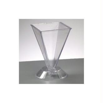 Moule Pyramide en plastique pour créer des bougies, 105 x 67 x 67 mm