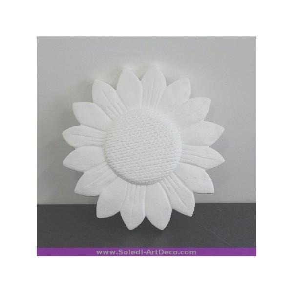 Grand Tournesol en polystyrène diam. 30 cm - Photo n°1