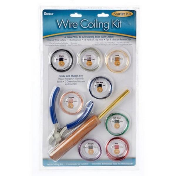 Wire Coiling kit, Ensemble bobineuse pour fils aluminium avec accessoires - Photo n°1