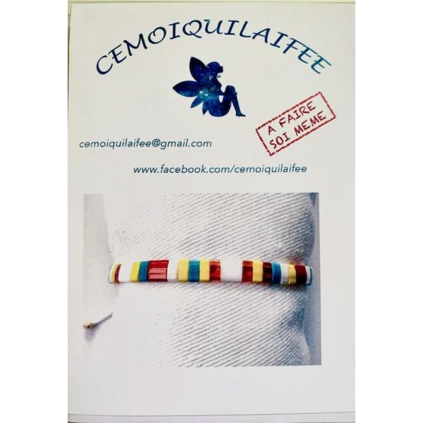 Kit Bracelet perles Tila Multicolore - Photo n°2