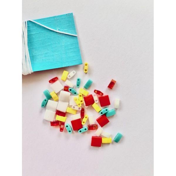 Kit Bracelet perles Tila Multicolore - Photo n°3
