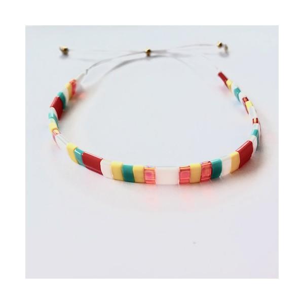 Kit Bracelet perles Tila Multicolore - Photo n°5