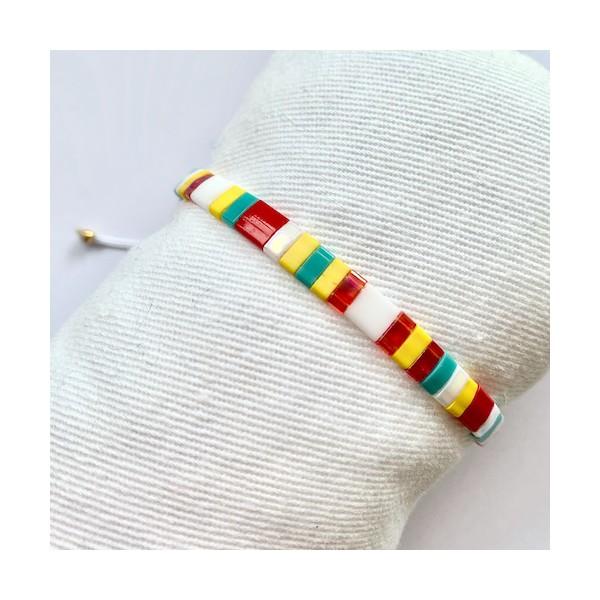 Kit Bracelet perles Tila Multicolore - Photo n°1