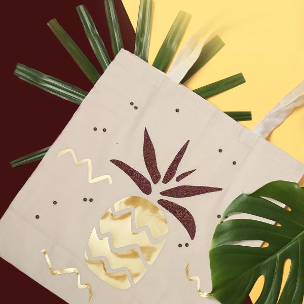 Kit DIY - Customiser un tote-bag - Ananas - Photo n°2