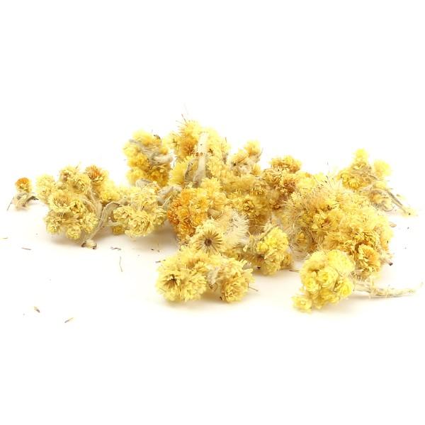 Fleurs Séchées en sachet - Immortelle - 10 g - Photo n°2