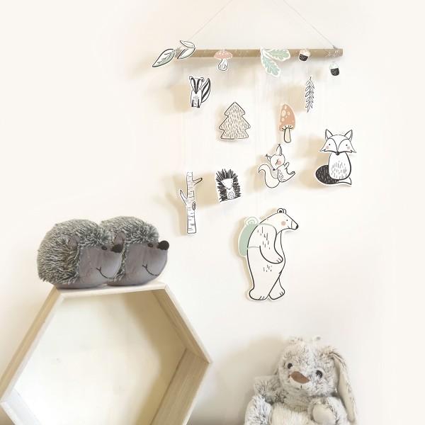 Kit DIY Fimo - Suspensions pour chambre d'enfant - 30 x 50 - Photo n°2