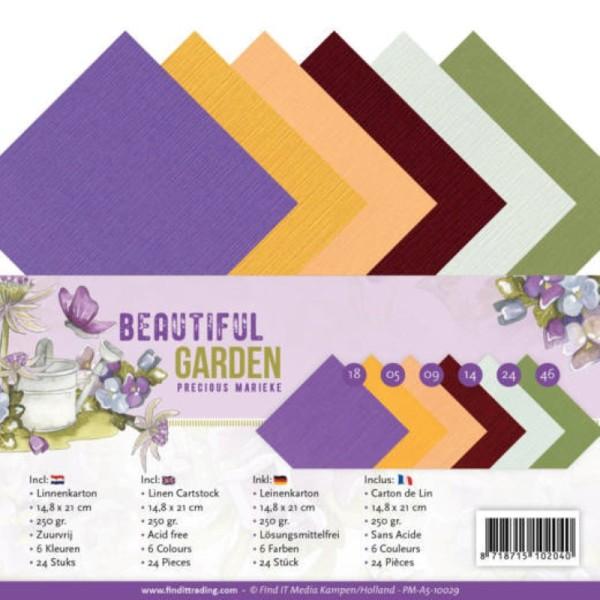 Set 24 cartes A5 - Beautiful garden - Photo n°1