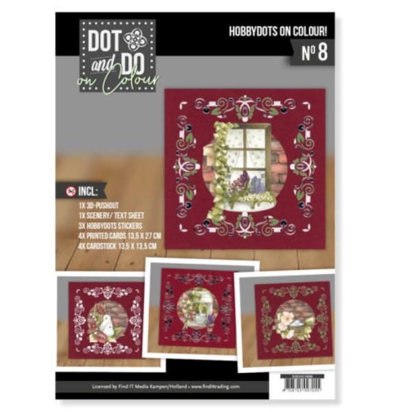 Dot and Do on Colour 8 - Kit Carte 3D - Beau jardin - Photo n°1