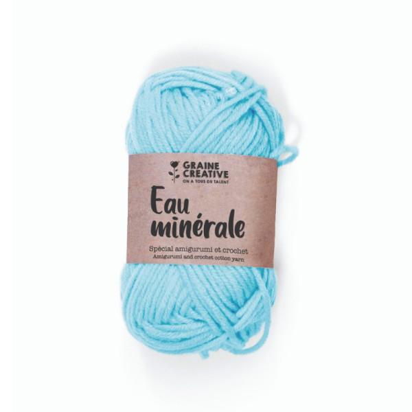 Crochet Amigurumi Bleu Clair Fil de Coton - 27 g - Photo n°1