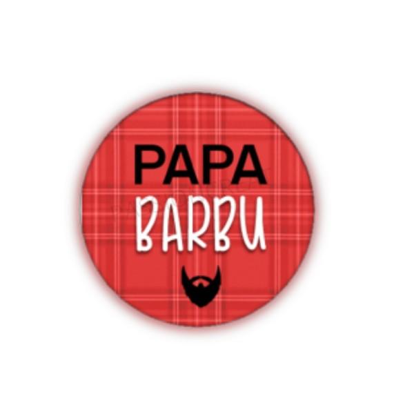 Papa Barbu 2 Cabochons - Photo n°1