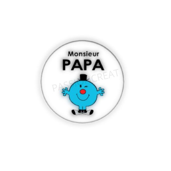 Monsieur Papa 2 Cabochons - Photo n°1