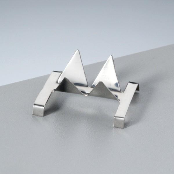 Petit Support contre-émail, pour pièce de 3 à 10 mm, pour émaillage jusqu'à 1 200°C - Photo n°1