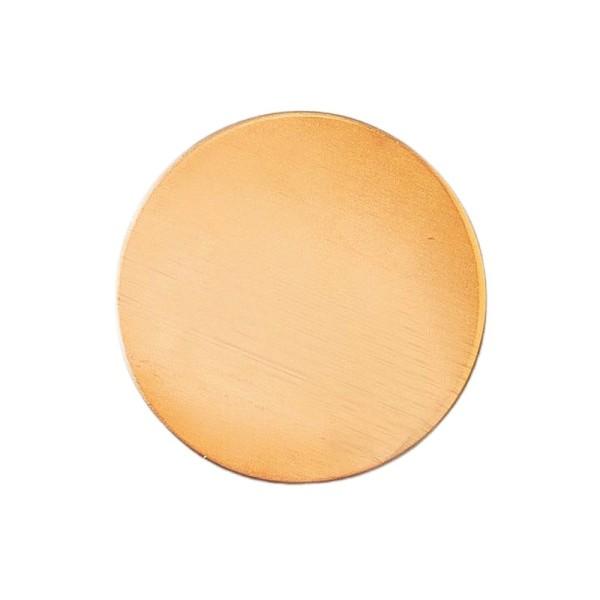 Lot de 10 Platines en cuivre Rond, ébauche 2,8 cm x 0.8 mm pour émaillage - Photo n°1