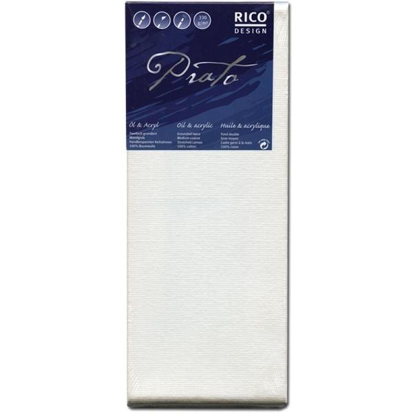 Châssis peinture 100% coton Prato 20x50x1,8 cm - Photo n°1
