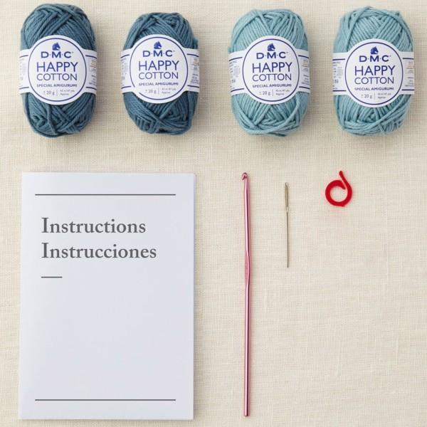 Kit DIY Crochet Mindful DMC - Dessous de verre - Ø 12 cm - Photo n°3