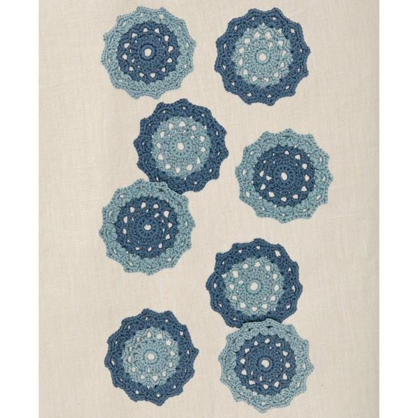 Kit DIY Crochet Mindful DMC - Dessous de verre - Ø 12 cm - Photo n°5