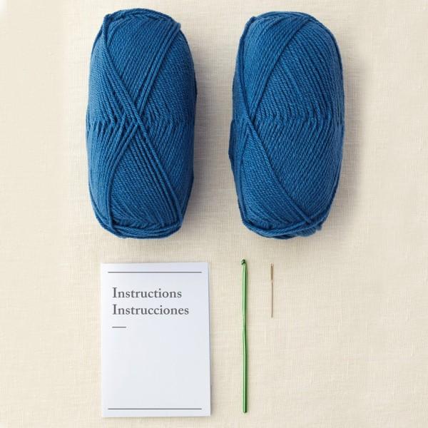 Kit DIY Crochet Mindful DMC - Coussin - Ø 40 cm - Photo n°3